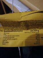 orange cacao - Nutrition facts - de