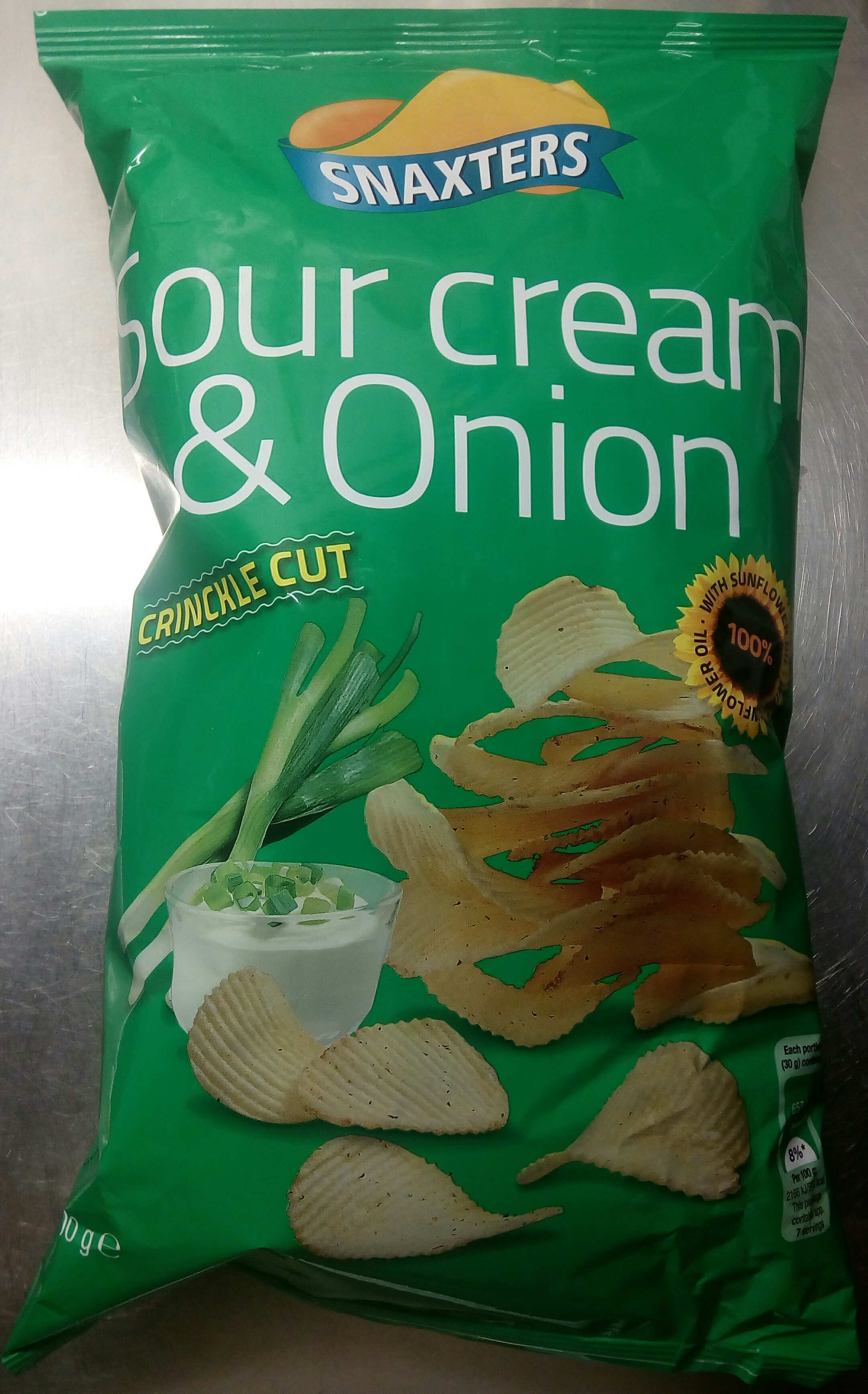 Snaxters Sour cream & Onion - Product