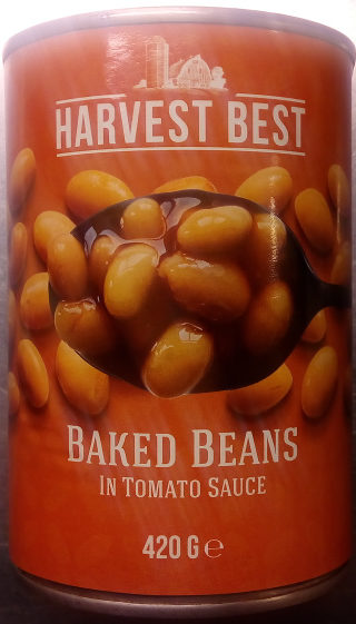 Harvest Best Baked Beans In Tomato Sauce - Product