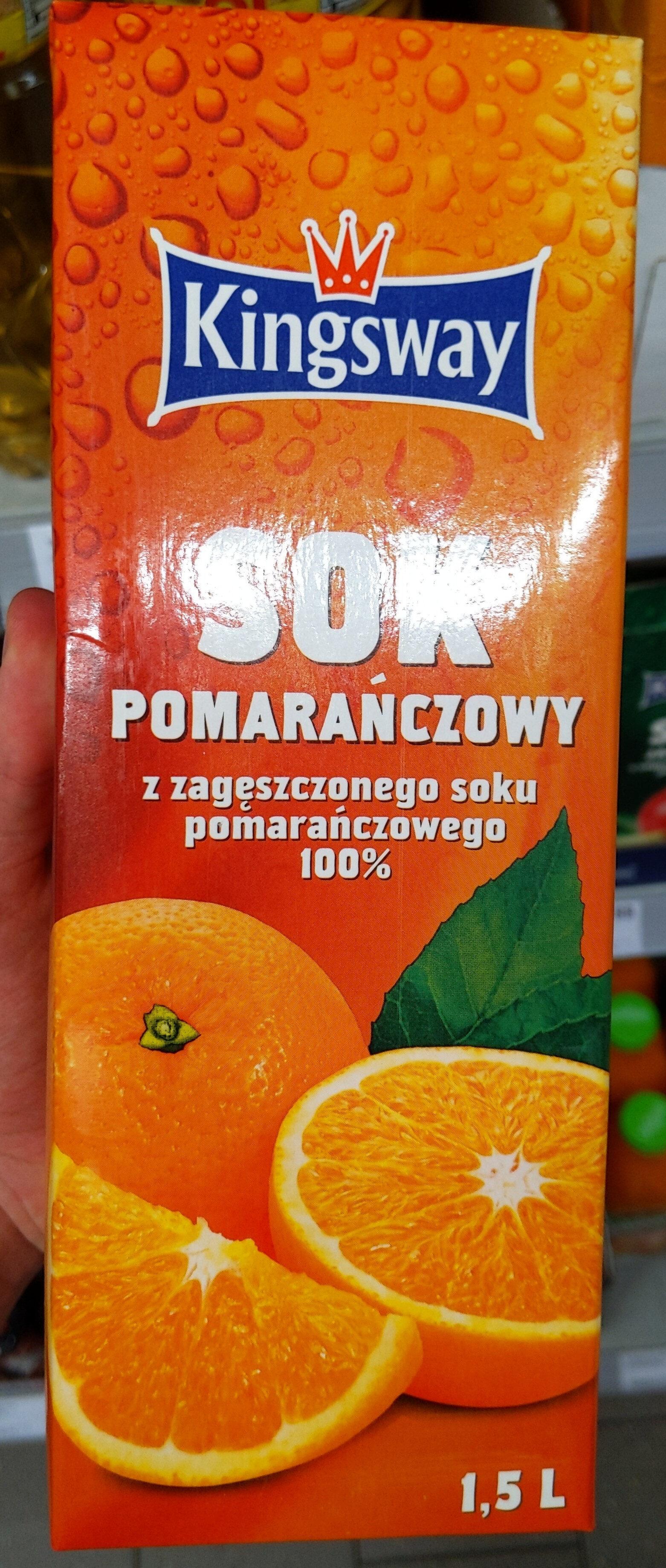 Kingsway Sok Pomarańczowy - Produkt - pl