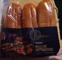 brioche hot-dog brod - Product - de