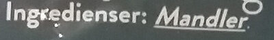 Mandler - Ingrédients - da