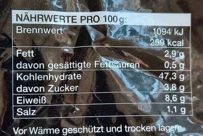 Weizenbrötchen - Voedingswaarden - de