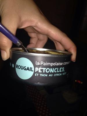 Rougail petoncles et thon au citron vert - Product - fr