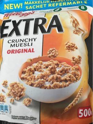 Extra Crunchy Muesli - Product
