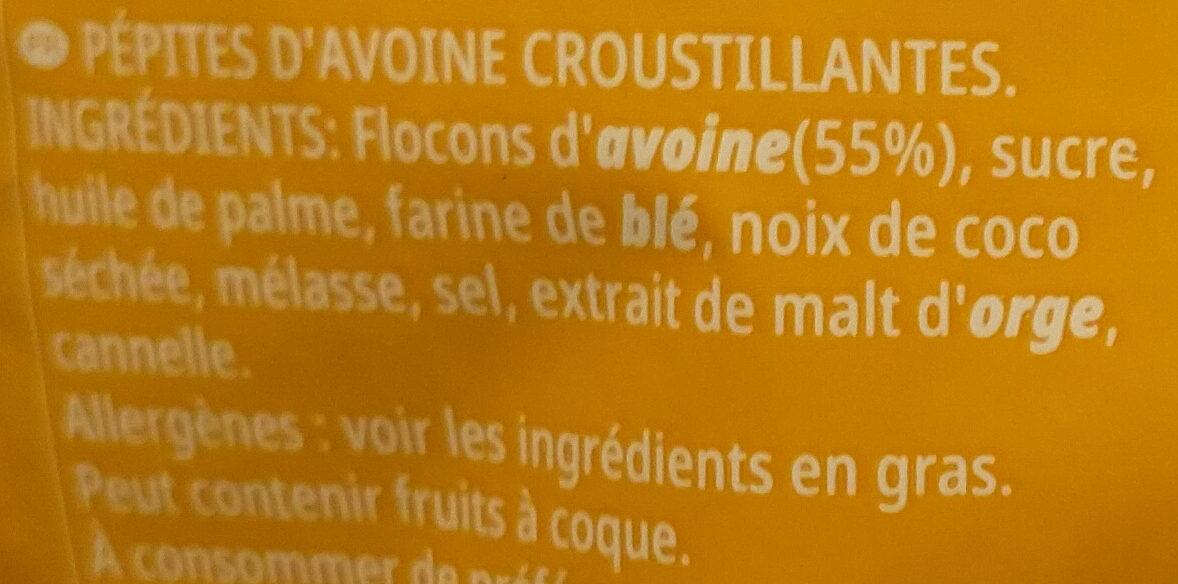 Kellogg's Extra Original 8x500g - Ingrédients - fr