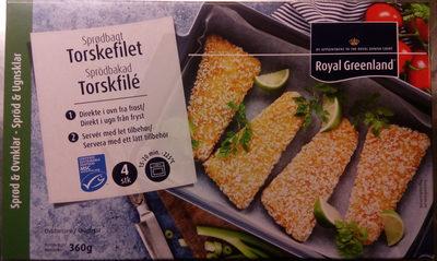 Royal Greenland Sprödbakad Torskfilé - Product