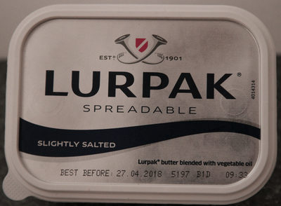 Lurpak Spreadable Slightly Salted - Product