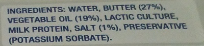 Lurpak Spreadable Lightest - Ingredients