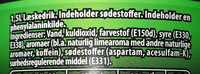 Pepsi MAX lime - Ingredients - da