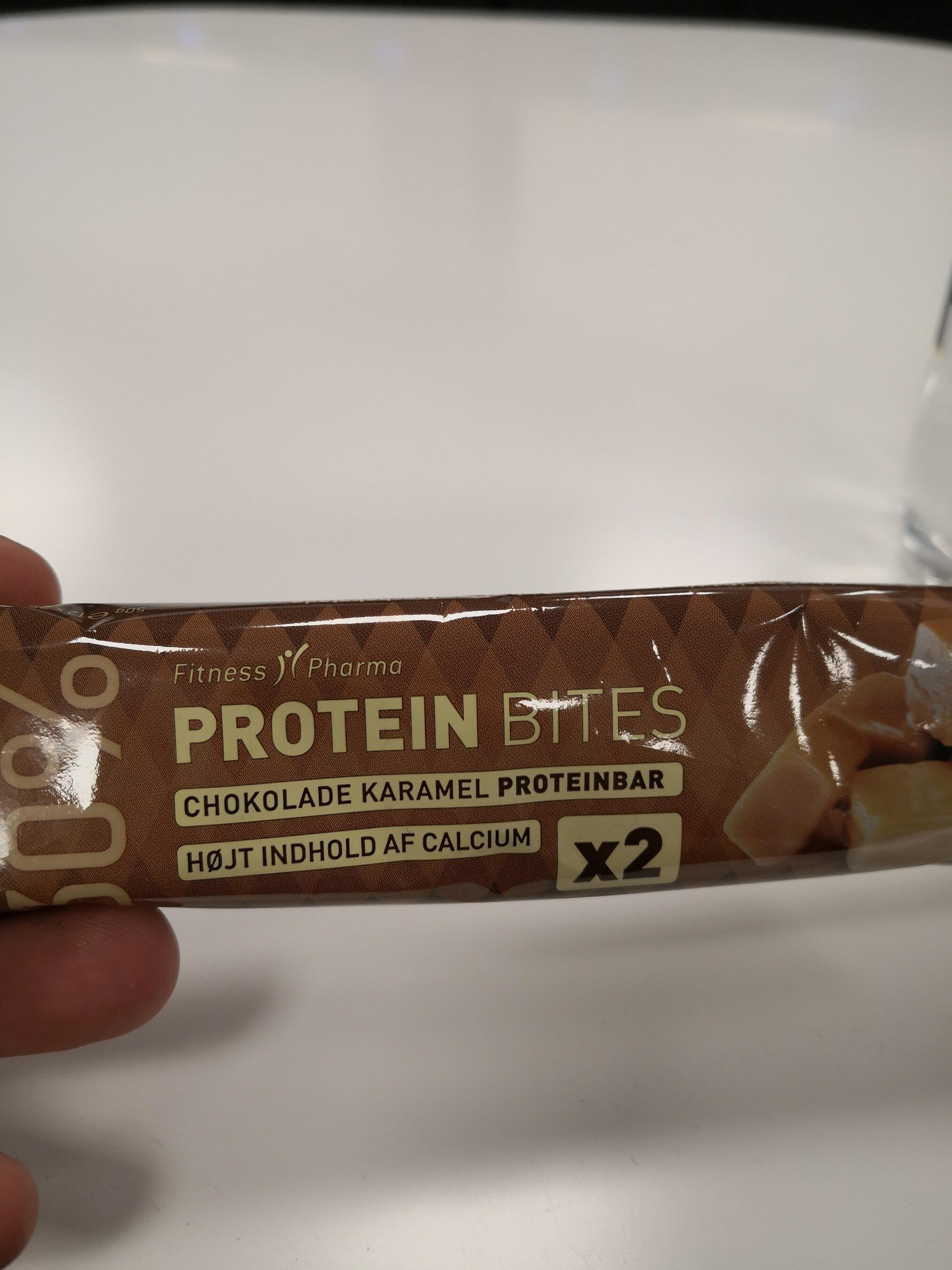 fitness pharma protein bites karamel - Produit - da