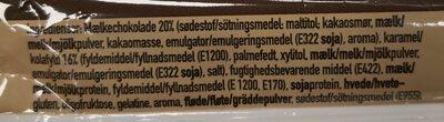 fitness pharma protein bites karamel - Ingrédients - da