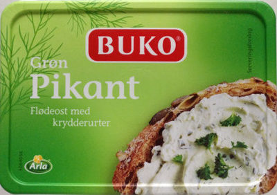 Buko Green Piquant Cream Cheese With Herbs - Product - en