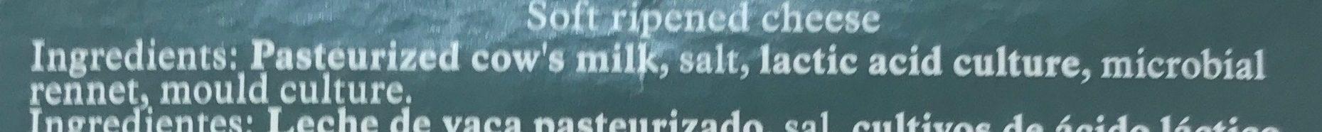 Camembert Cheese - Ingrediënten