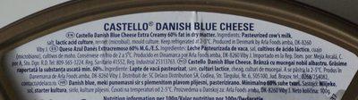 Castello Danish Blue cheese - Ingredientes