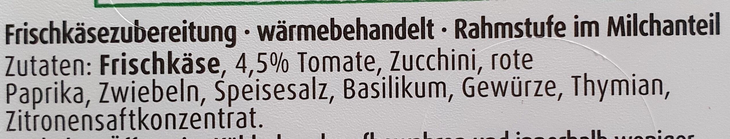 Buko Toskana - Ingrediënten - de