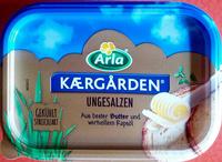 Butter Kærgården ungesalzen - Product - de