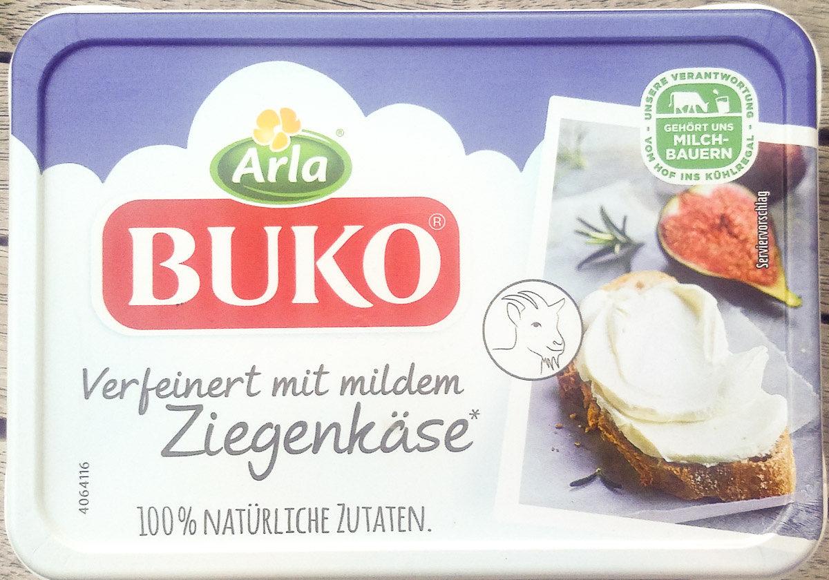 Arla Buko Verfeinert mit mildem Ziegenkäse - Produkt
