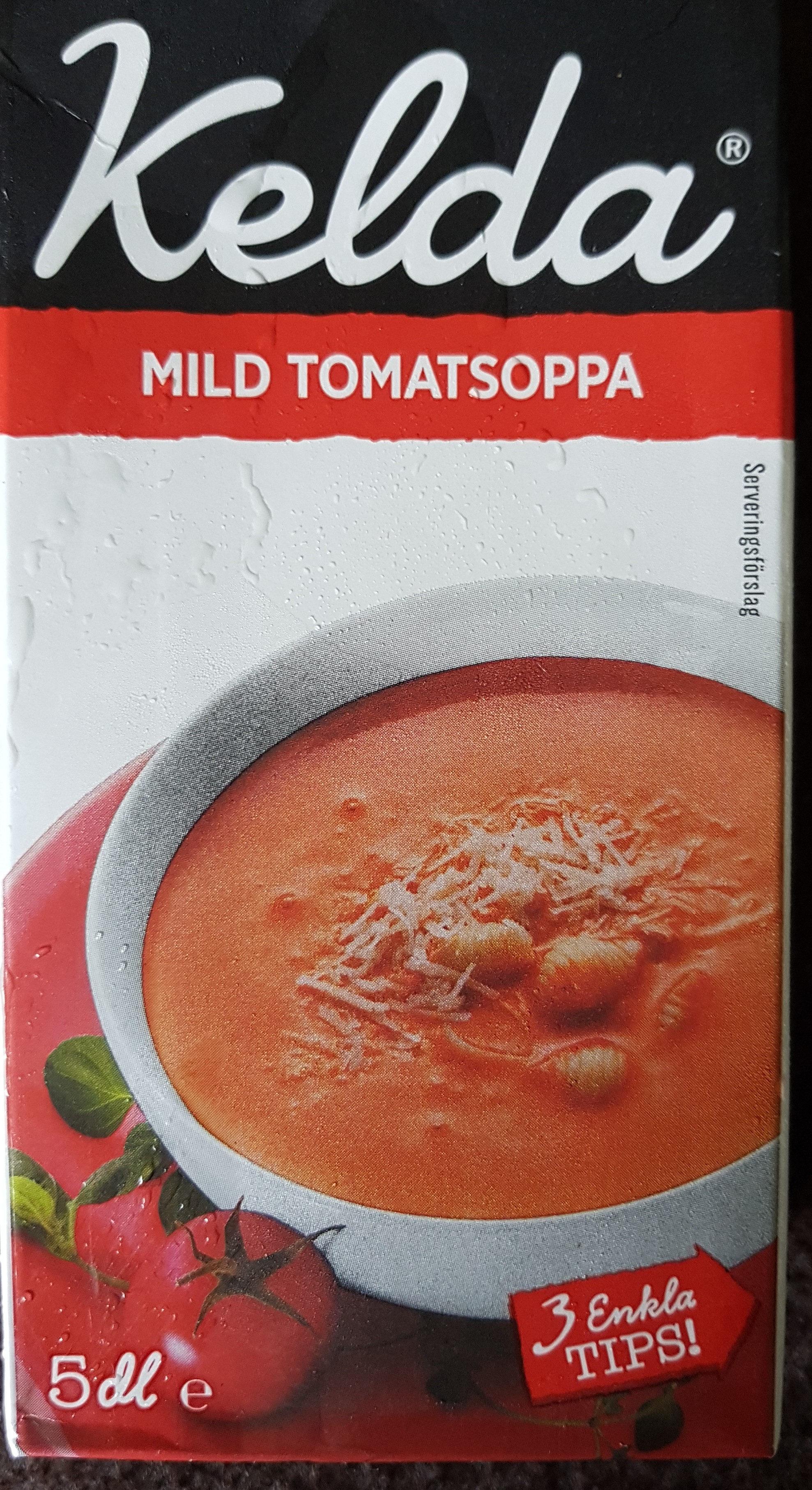 kelda mild tomatsoppa