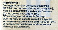 Dés de fromage - Ingredients - fr