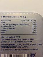 Arla Kaergarden Balance - Informations nutritionnelles