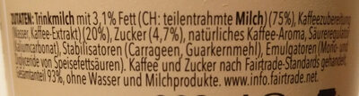 Caffè Latte - Ingrediënten - de