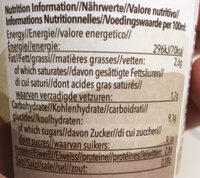 Seattle Latte - Informations nutritionnelles