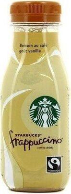 Starbuck frappucino - goût vanille - Produit - en