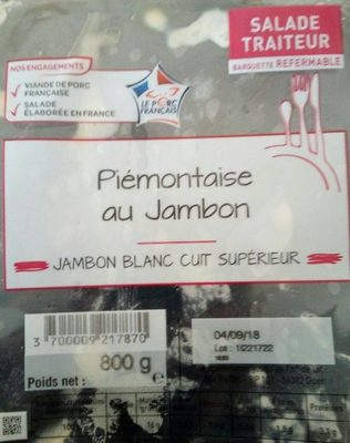 Piémontaise au jambon - Producto