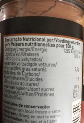 Cocoa low fat - Voedingswaarden - fr