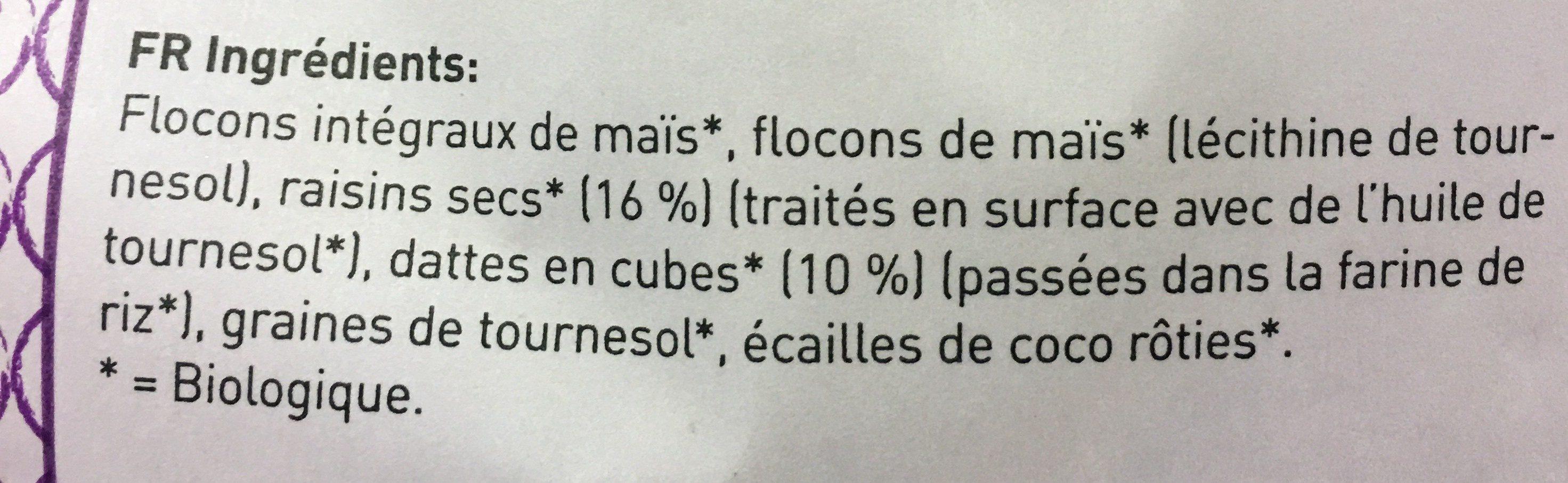 Fruit Muesli - Ingrediënten
