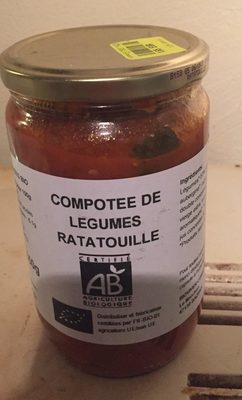 Compotee de legumes ratatouille - Produit
