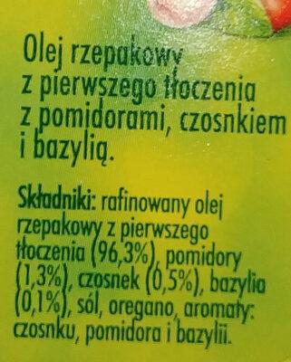 Olej rzepakowy - Składniki - pl