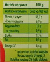 Olej rzepakowy - Wartości odżywcze - pl