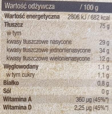 Finuu Klasyczne - Wartości odżywcze - pl
