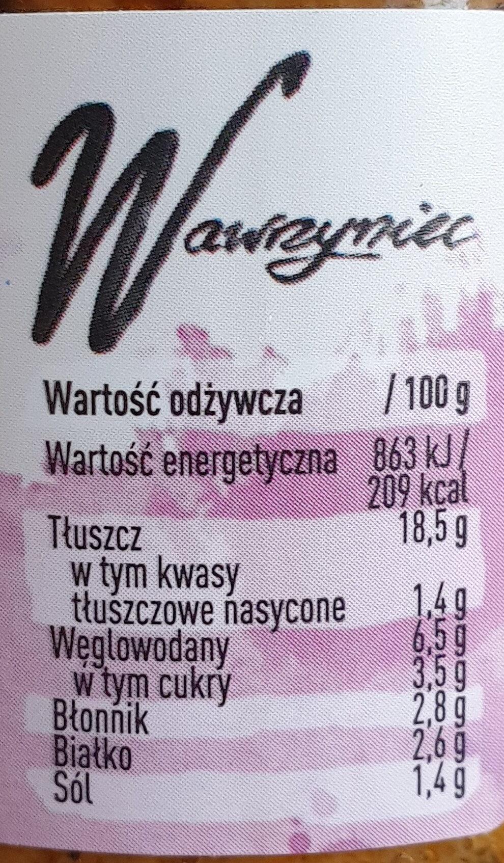 Wawrzyniec z grillowanym bakłażanem - Wartości odżywcze - pl