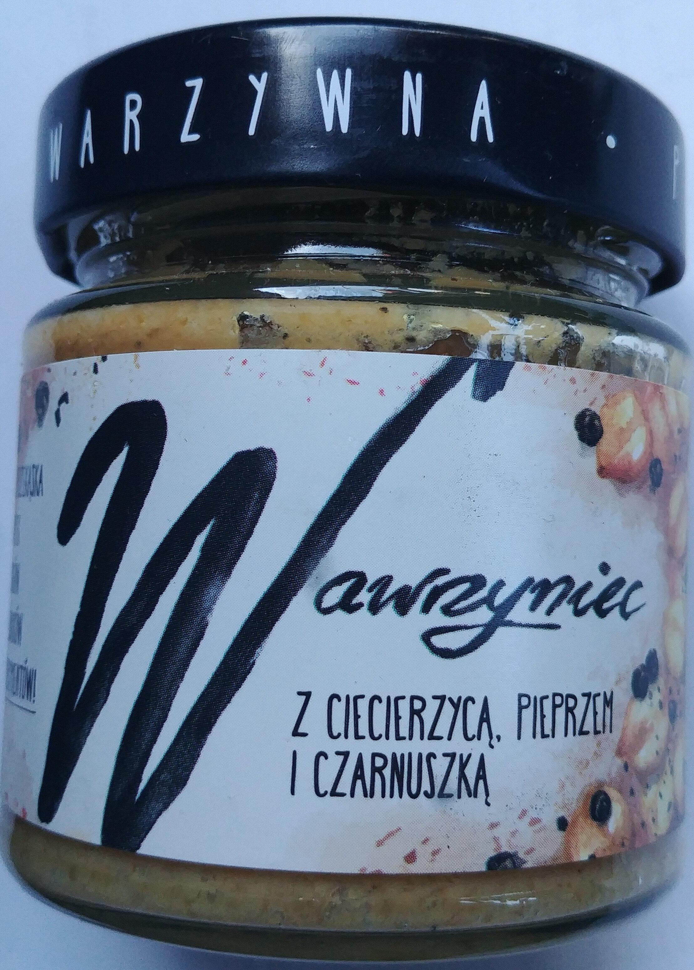Wawrzyniec - Pasta warzywna z ciecierzycą, pieprzem i czarnuszką - Produkt - pl