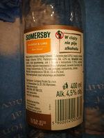Somersby - Składniki - pl