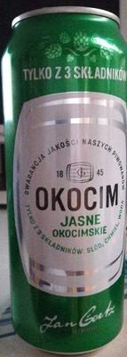 Piwo Okocim jasne okocimskie - Produkt