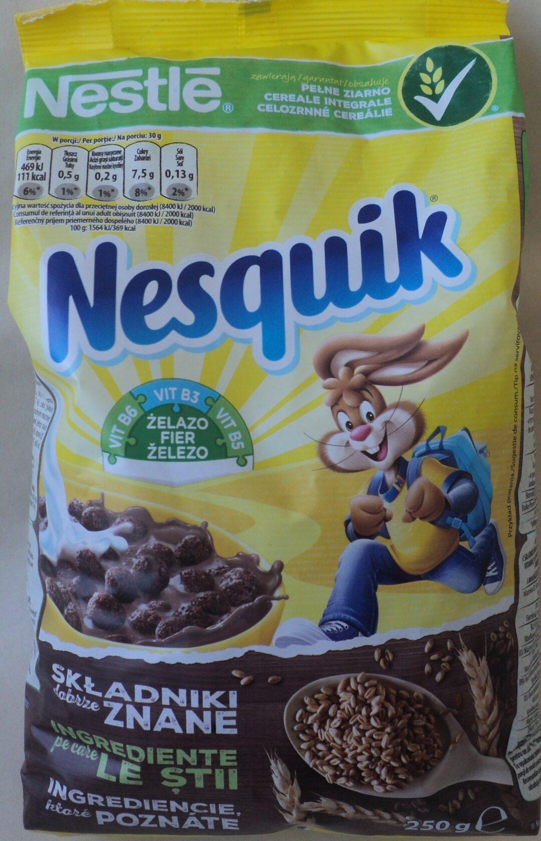 Nesquik Cereale integrale - Produkt - pl