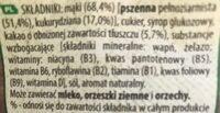 Nesquik Cereale integrale - Składniki - pl