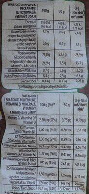 Nesquik Cereale integrale - Wartości odżywcze - pl