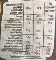 Nesquik - Nutrition facts - ro