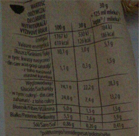 Nestle Cini Minis 250G - Пищевая и энергетическая ценность - en
