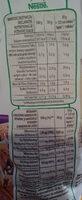 Cookie crisp - Nutrition facts - pl
