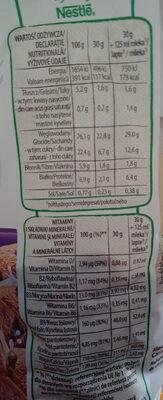 Cookie crisp - Wartości odżywcze - pl