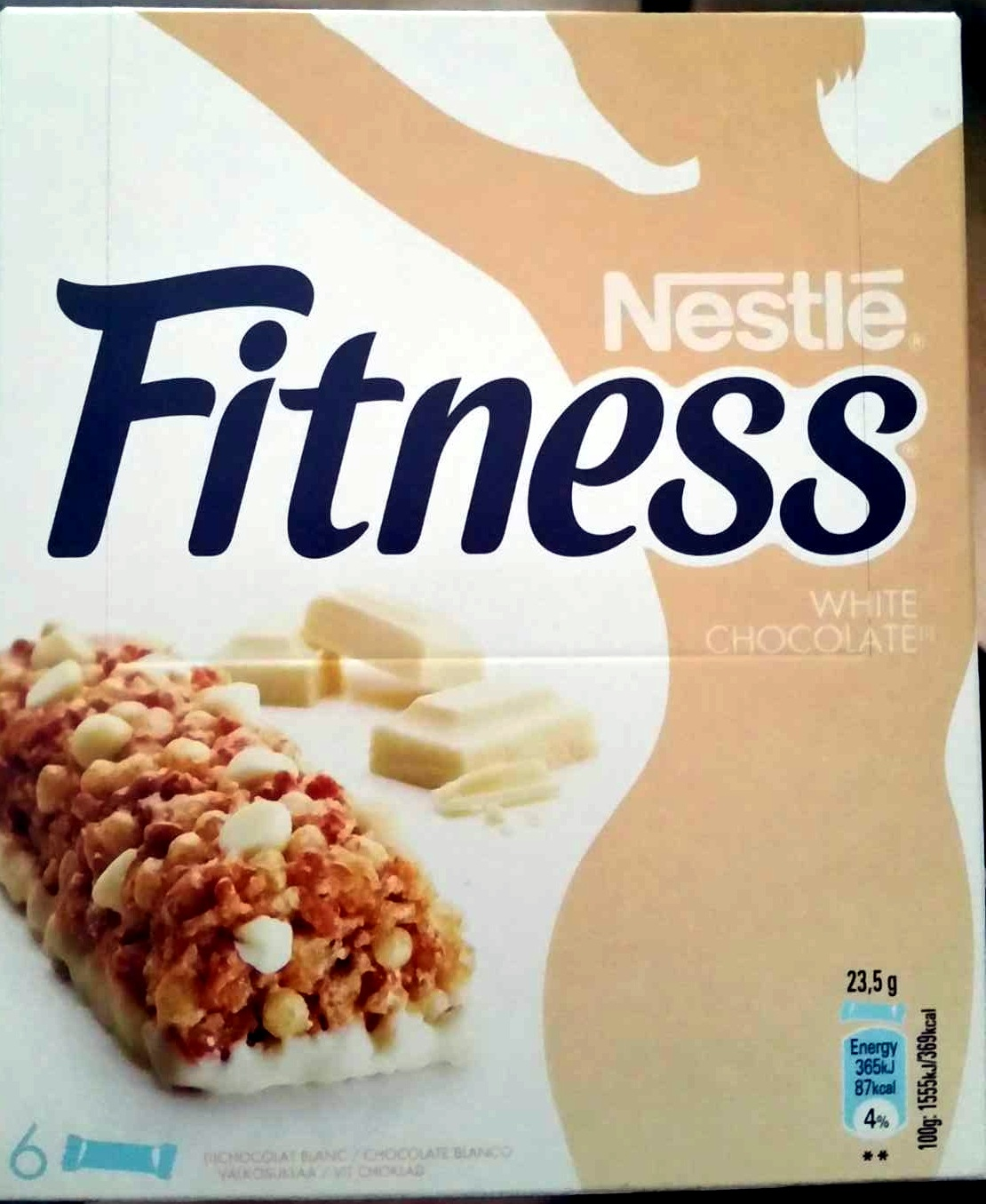 Barres Fitness Chocolat Blanc - Product - fr