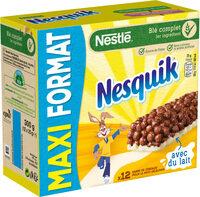 NESTLE NESQUIK Barres de Céréales 12 x 25g Maxi Format - Produit - fr