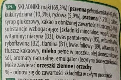Nesquik duo - Składniki