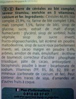 Fitness Tiramisu - Ingrediënten - fr
